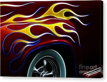 My Latest Flame Canvas Print by Bob Christopher