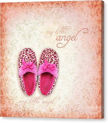 My Little Angel Canvas Print by Prajakta P