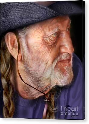 My Man Willie Canvas Print by Reggie Duffie