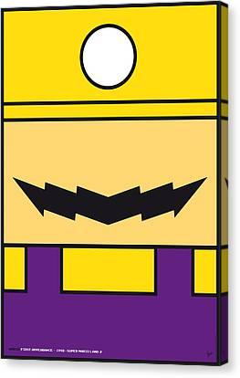 My Mariobros Fig 04 Minimal Poster Canvas Print by Chungkong Art