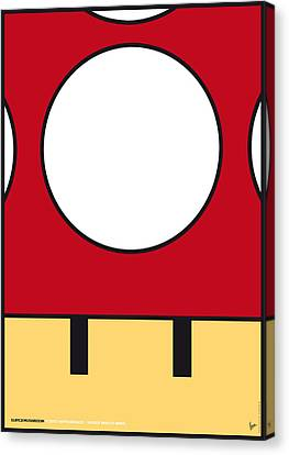 My Mariobros Fig 05a Minimal Poster Canvas Print by Chungkong Art