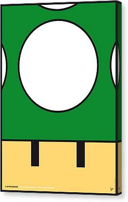 My Mariobros Fig 05b Minimal Poster Canvas Print by Chungkong Art