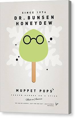My Muppet Ice Pop - Dr Bunsen Honeydew Canvas Print by Chungkong Art