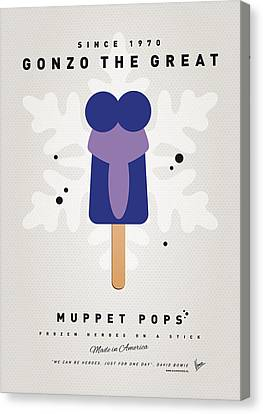 My Muppet Ice Pop - Gonzo Canvas Print by Chungkong Art