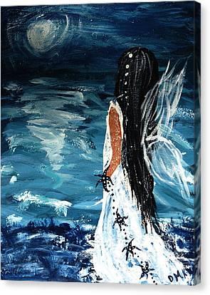 My Prayers Canvas Print by Debbie May
