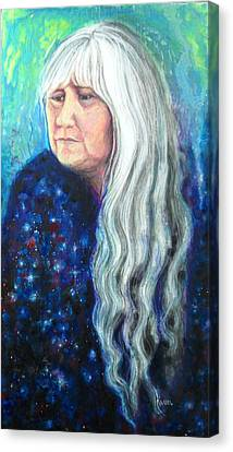 My Reflections Canvas Print by Karen Roncari