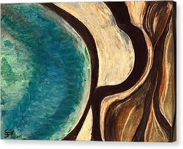 My Seascape I Canvas Print by Carla Sa Fernandes