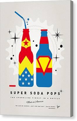 My Super Soda Pops No-06 Canvas Print by Chungkong Art