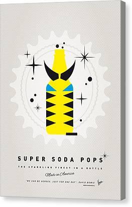 My Super Soda Pops No-13 Canvas Print by Chungkong Art