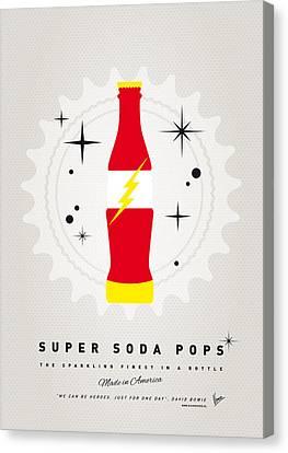 My Super Soda Pops No-18 Canvas Print by Chungkong Art