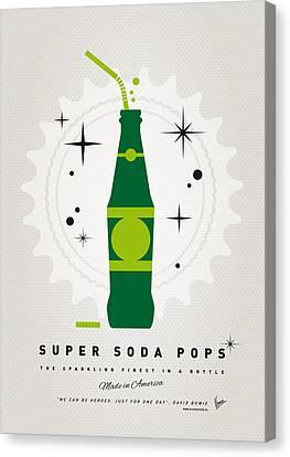 My Super Soda Pops No-20 Canvas Print by Chungkong Art