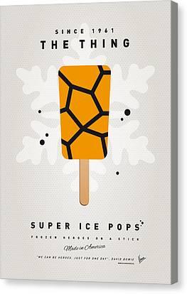 My Superhero Ice Pop - The Thing Canvas Print by Chungkong Art