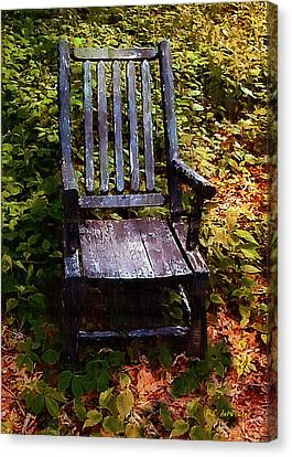 My Thinking Chair Canvas Print by RC deWinter