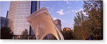 Myriad Botanical Gardens Bandshell Canvas Print by Panoramic Images
