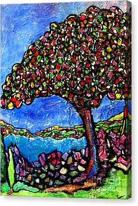 Myrtle Edwards Park Canvas Print by Chaline Ouellet