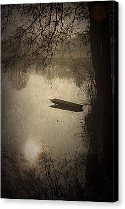 Mysterious Morning Canvas Print by Maria Heyens