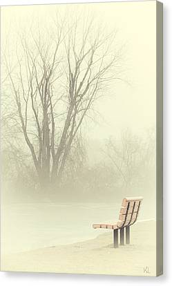 Mysterious Peace Canvas Print by Karol Livote