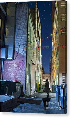 Mystery Alley Canvas Print by Juli Scalzi
