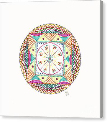 Mystery Box Canvas Print by Signe  Beatrice