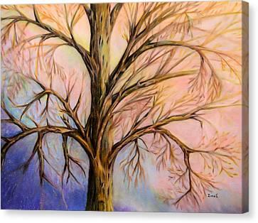 Mystery Tree Canvas Print by Zina Stromberg