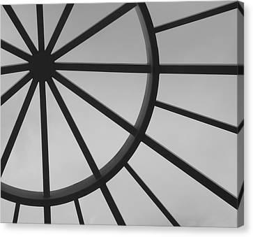 Mystic Wheel  Canvas Print by Steven Milner