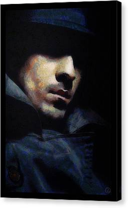 Mystical Man Canvas Print by Gun Legler