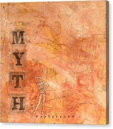 Myth Of Perfection Canvas Print by Carlynne Hershberger