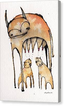 Mythos 4 Canvas Print by Mark M  Mellon