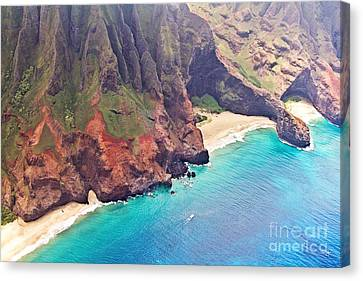Na Pali Coast Canvas Print by Scott Pellegrin
