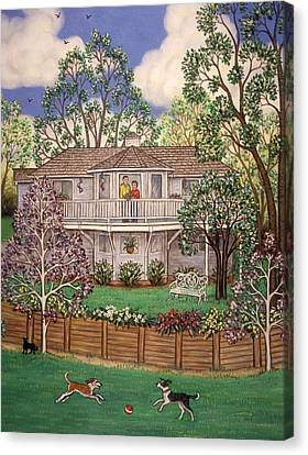 Nancy's House Canvas Print by Linda Mears