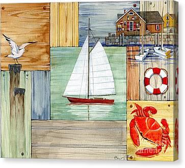 Nantucket II Canvas Print by Paul Brent