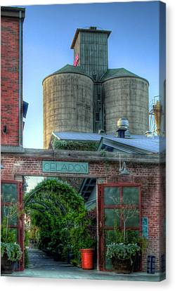 Napa Mill Canvas Print by Bill Gallagher