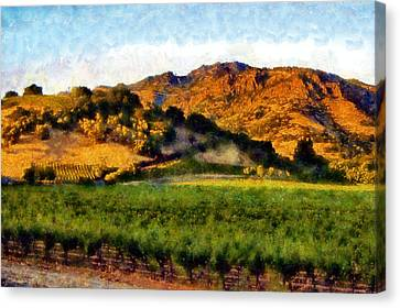 Napa Valley Canvas Print by Kaylee Mason