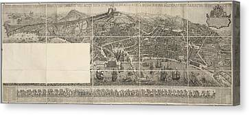 Naples Canvas Print by British Library