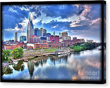 Nashville Canvas Print by Jennifer Pinckney
