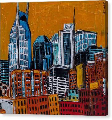 Nashville Canvas Print by Karl Haglund