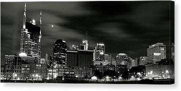 Nashville Panoramic Canvas Print by Frozen in Time Fine Art Photography