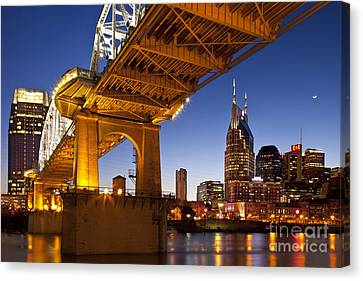 Nashville Tennessee Canvas Print by Brian Jannsen