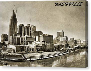 Nashville Tennessee Canvas Print by Dan Sproul