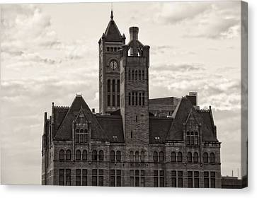 Nashville's Union Station Canvas Print by Dan Sproul