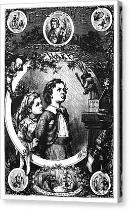 Nast Christmas, 1870 Canvas Print by Granger