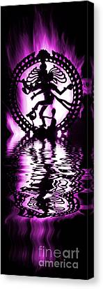 Nataraja The Lord Of Dance Canvas Print by Tim Gainey