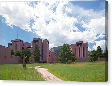 National Center For Atmospheric Research Canvas Print by Jim West
