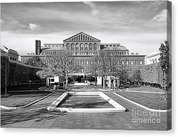 National Law Enforcement Officers Memorial Canvas Print by Olivier Le Queinec