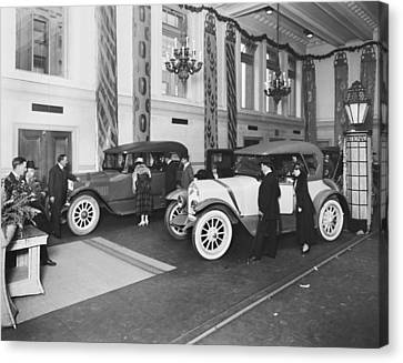 National Motor Vehicle Company Canvas Print by Underwood Archives