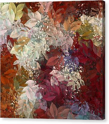 Naturaleaves - 88c02 Canvas Print by Variance Collections