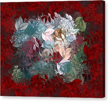 Naturaleaves - S20-03c Canvas Print by Variance Collections