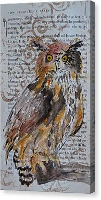 Nature Prevails Original Version Canvas Print by Beverley Harper Tinsley