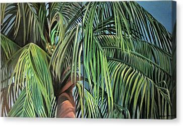 Nature Study 2 Canvas Print by Julie Orsini Shakher