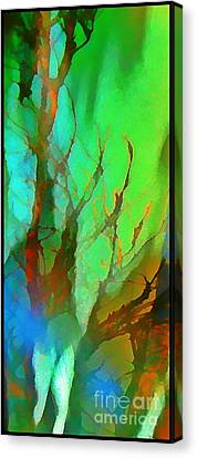Natures Beauty Abstract Canvas Print by John Malone